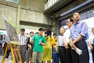 嚴防豪雨!韓國瑜視察滯洪池、應變中心二級開設