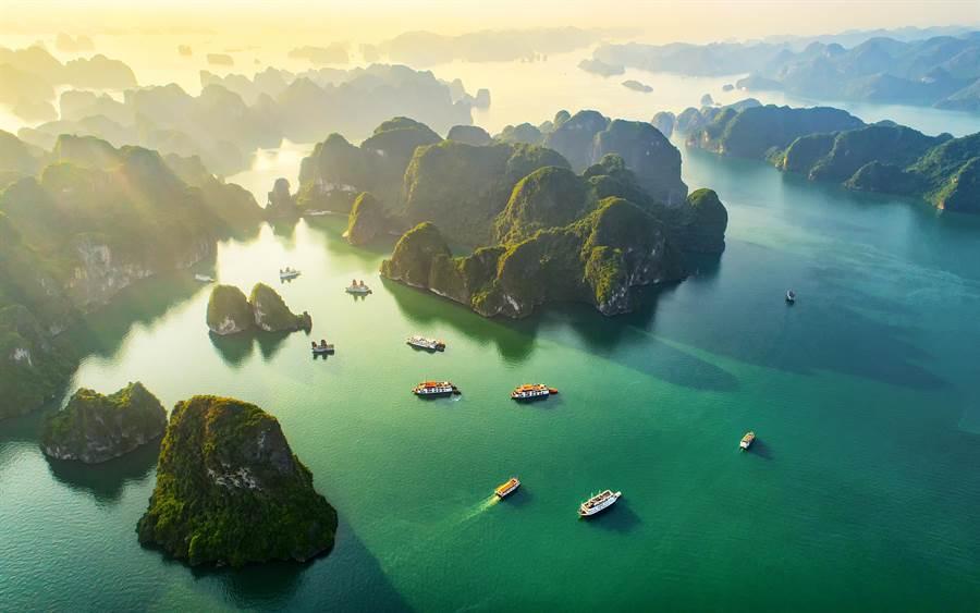 越南近年觀光人次暴增。(達志影像)