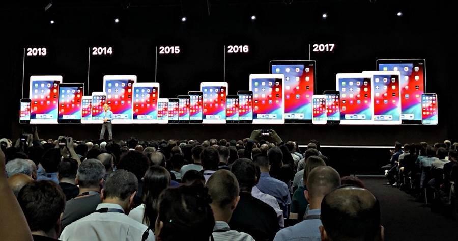 iOS 12支援設備iOS 11一樣,沒有淘汰任何一款老設備,支援的設備最老的是2013年發表的機種,等於提供長達5年的作業系統支援。但今年的 iOS 13,恐怕不會提供如 iOS 12 的福利。(圖/黃慧雯攝)