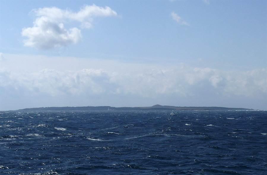 鹿兒島縣馬毛島的資料照。(網路照)