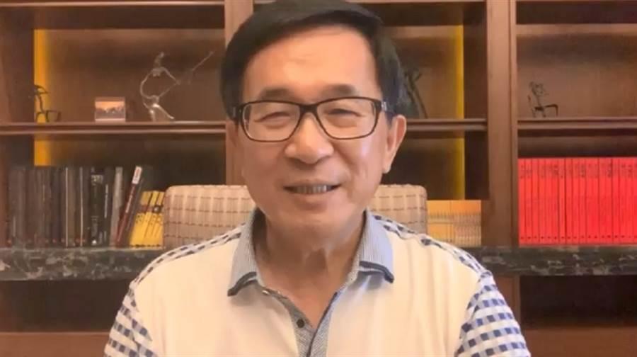 前總統陳水扁。(翻攝自YonGe Chen)