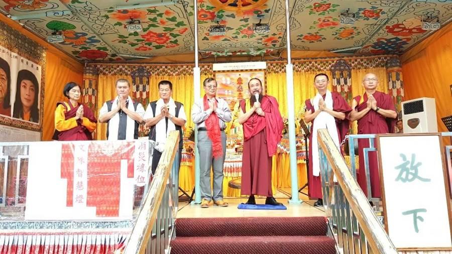 行動佛殿抵達台東。(楊漢聲翻攝)