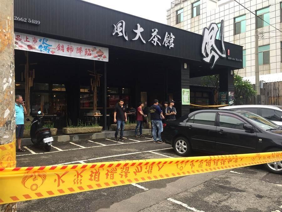 發生槍擊命案的沙鹿風大茶館宣布即日起停業。(本報系資料照)