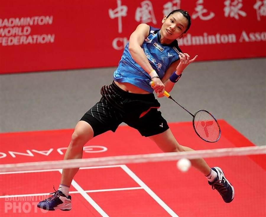 戴資穎自評蘇迪曼盃首戰表現不盡理想。(資料照/Badminton Photo提供)