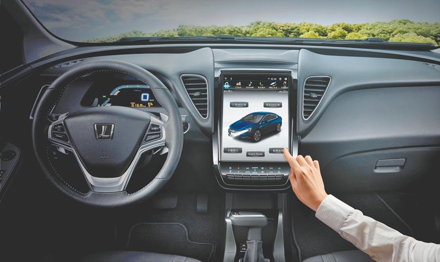 S5 GT、S5 GT225首度搭載國產同級唯一的智慧科技「LUXGEN LINK+智聯網系統」,享有遠端功能服務與76項車況即時檢查。(納智捷提供)