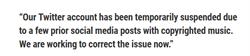 NBA》音樂版權問題 火箭官推遭封鎖