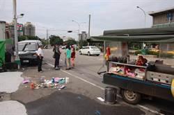 男駕車失控連環撞倒12車 3人受傷