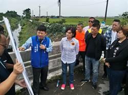大排溢堤必淹 居民盼加水門阻農水路外水