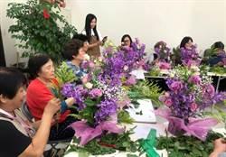 推廣花卉教學 台北花市走入社區接地氣