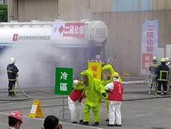 毒性化學物質災害演習宜蘭登場 過程逼真