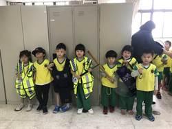 萌娃參訪樹林分局 穿制服變一日警察