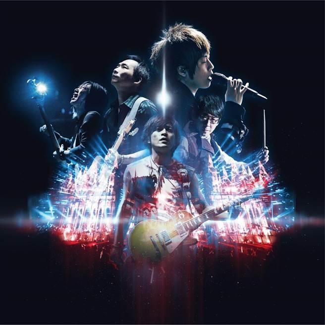 五月天推出《五月天人生無限公司Life Live》專輯。照片提供:相信音樂
