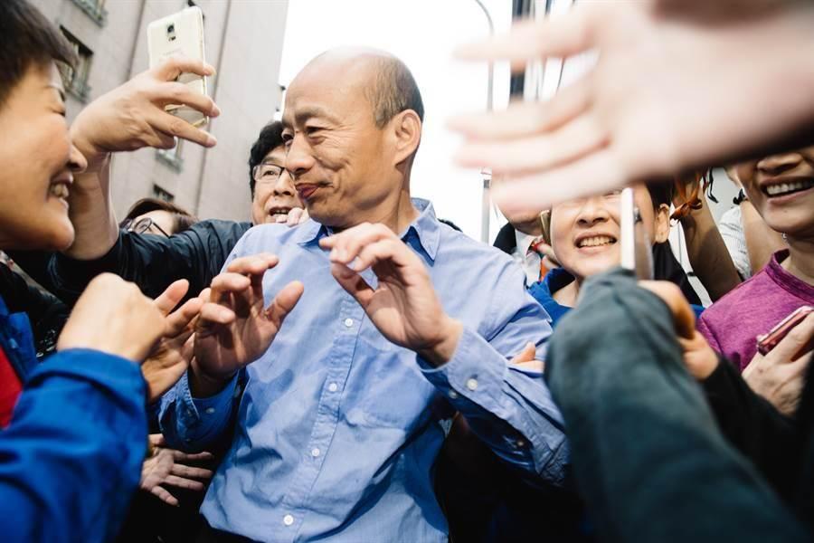 高雄市長韓國瑜。(本報系資料照)
