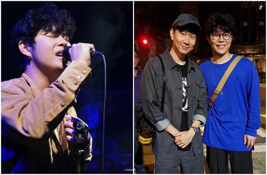 葉秉桓歌唱技巧被林俊傑大為稱讚。(圖/葉秉桓臉書)