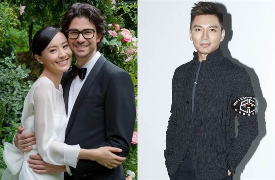 陳法拉梅開二度,和交往3年法籍男友結婚。(圖/翻攝自東網)