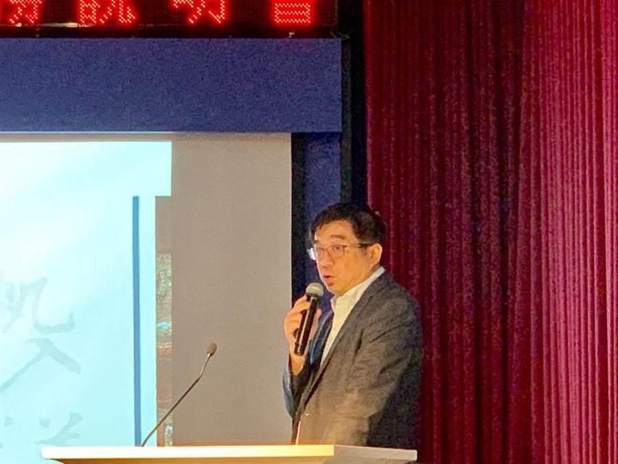 (身兼益航集團、大洋-KY董事長郭人豪少見現身大洋法說會。圖:李麗滿)