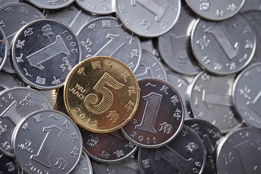 人民幣示意圖。(圖/達志影像)