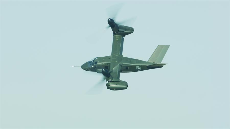 貝爾V-280可視為V-22的後續機種,性能更加靈活。(圖/貝爾)