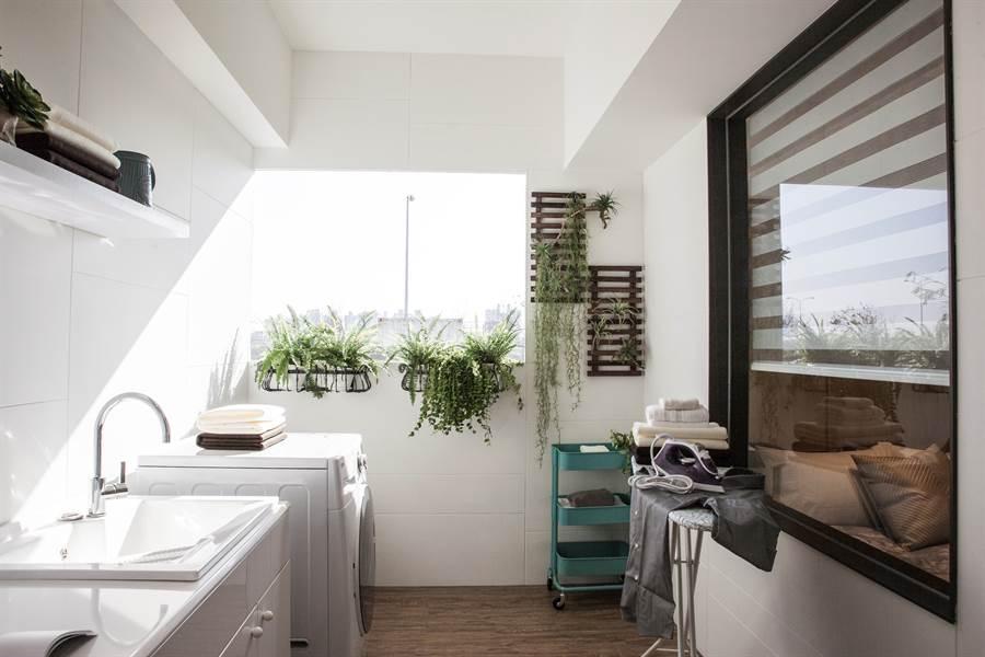 美式大陽台,空間多功能使用,超出首購宅等級。圖/業者提供
