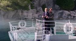 幸運旅客賺到了!席琳狄翁賭城戶外驚喜重現《鐵達尼號》