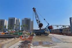 台南鐵路地下化陸續開挖 預計2022年底通車
