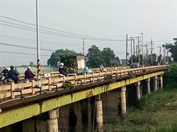 橋面窄又老舊  用路人:怕橋斷了