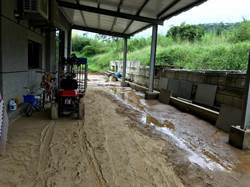 517豪雨泥流衝入住家 竹北尚義多戶受影響