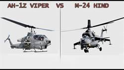 戰鬥直升機空戰 眼鏡蛇VS 雌鹿