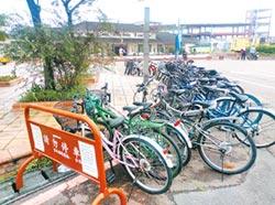 斗南火車站 連腳踏車都無處停