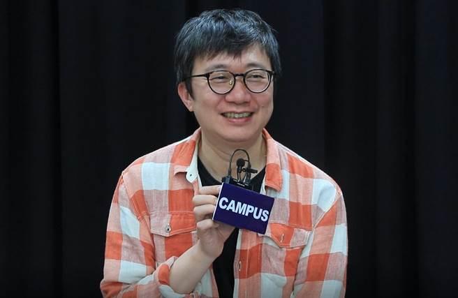 導演王嘉明表示《物種起源》以生態、環保為切入點,重新關心周遭環境。(陳晏萱攝)