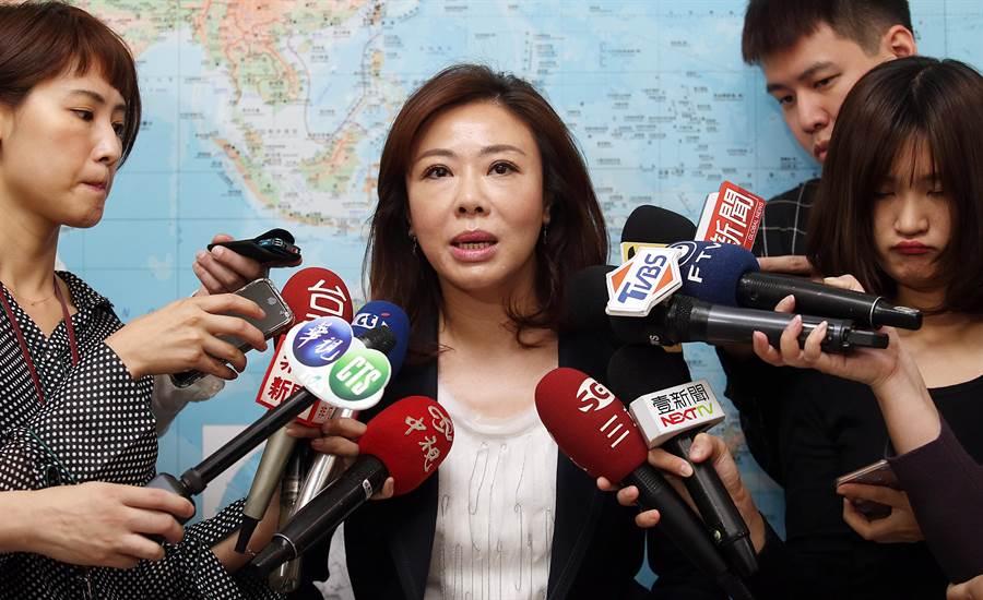 國民黨立委李彥秀受訪。(姚志平攝)