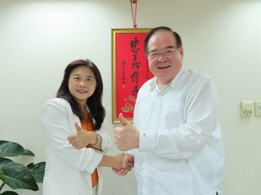 新北市第12選區藍營立委初選由前台北市副市長李永萍出線。(葉德正攝)