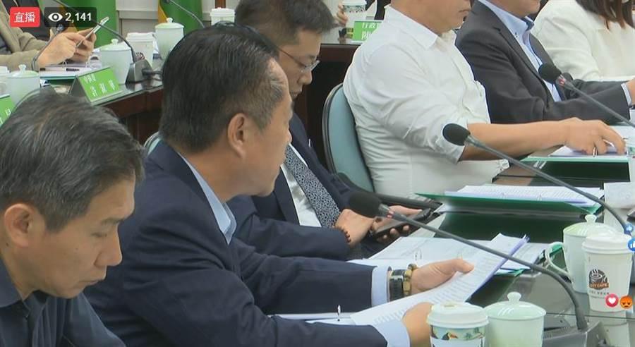 民進黨中執會今將討論總統初選日程及民調等相關事務。(民進黨FB直播)