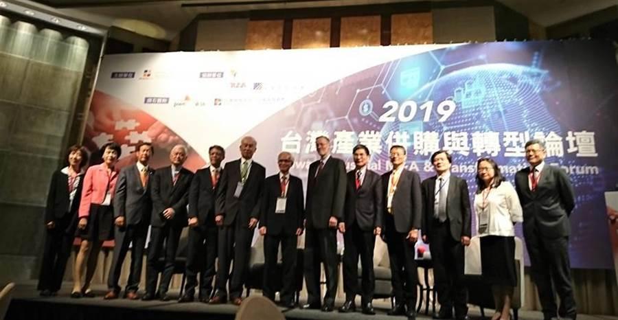 台灣併購與私募股權協會22日舉行2019台灣產業併購與轉型論壇。(圖:陳碧芬)