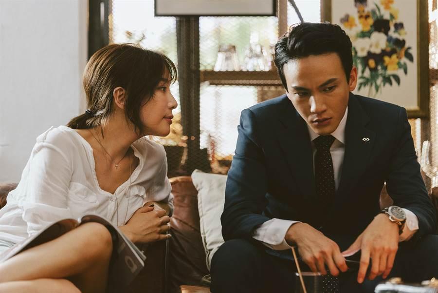 曹晏豪的角色在林子熙與蔡淑臻之間拉扯,他開玩笑的表示自己艷福不淺。公視提供