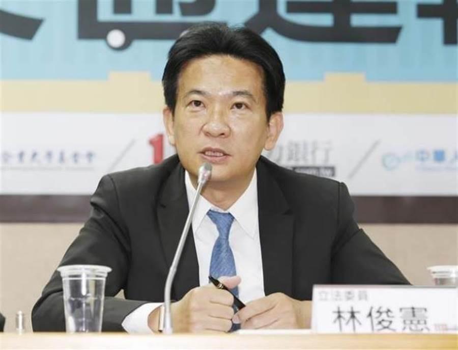 立委林俊憲。(本報系資料照片)