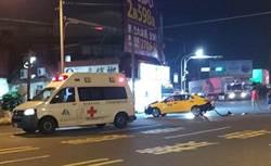 女病患腦震盪出血  救護車護送再被撞一次