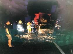 酒駕追撞油罐車爆炸   2車火海被燒面目全非