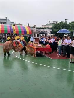 南彰化最大社頭運動公園 籃球場將加蓋與夜間照明