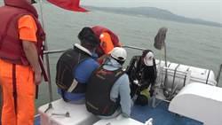 陸釣客非法登島 金門海巡依法移送