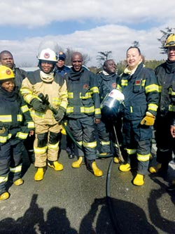 遙遠非洲的台商英雄們系列2-孫耀亨約翰尼斯堡公共安全守門人