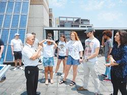 健行科大太陽光電課程讚 美師生來取經