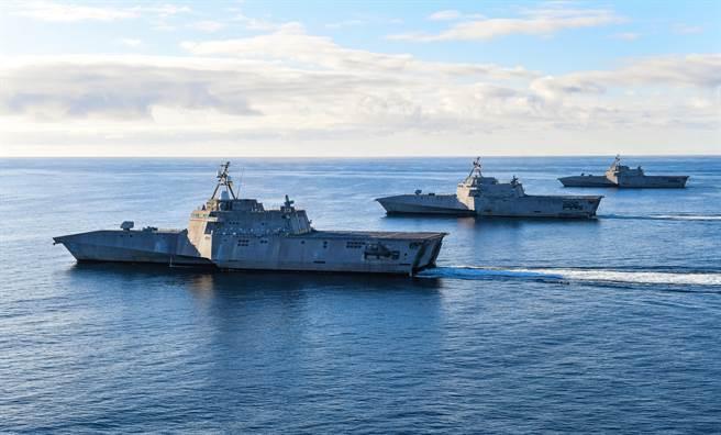 美國瀕海戰艦前後搞了20年,花了300億美元,總共建造35艘。未來要如何使用,還得煞費苦心。圖為獨立級瀕海戰艦(圖/美國海軍)