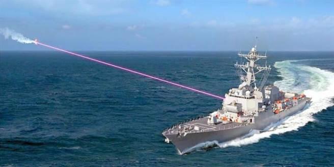 美軍普雷布爾號驅逐艦2021年安裝雷射砲