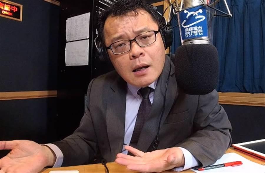 陳揮文認為韓國瑜應公開被開槍內幕。(取自YouTube)