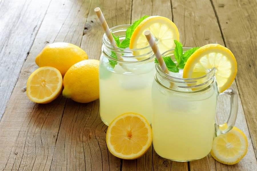 檸檬水。(圖/達志)