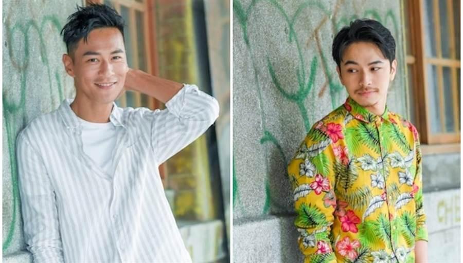 奶爸鍾承翰(左)和楊銘威各有不同螢幕魅力。盧禕祺攝