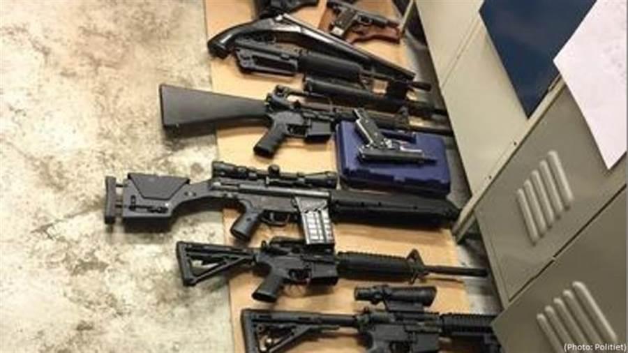 挪威軍方和警方把自己的長槍短槍私賣,還經營歐洲市場。(圖/挪威警局)