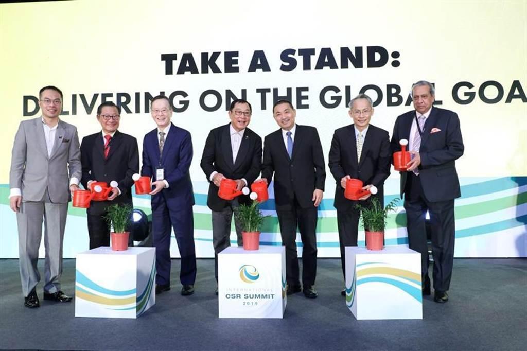 第五屆國際企業社會責任峰會(ICS 2019)移師台灣,獲得我官方熱烈支持。圖:亞洲企業商會