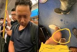 塔地鐵過隧道 女崩潰小腿濺到噁男「子孫」